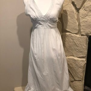 Tommy Bahama halter maxi dress medium